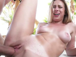 Filling Taylor Whyte With A Big Cock Outdoors