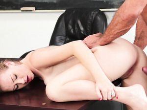 Schoolgirl Pussy Creampied By The Big Cock Teacher
