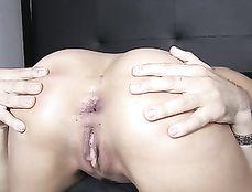 Dominant Big Dick Guy Fucks Her Asshole Hard
