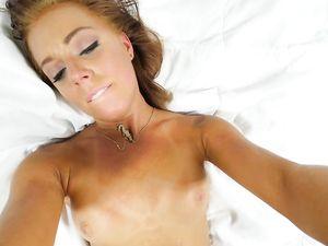 Her First Porn Scene Has Big Cock Hardcore Sex