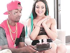 BBC Makes The Birthday Girl Happy And Cums Hard