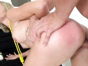 Porn Audition With A Cute Blonde Goes Really Well