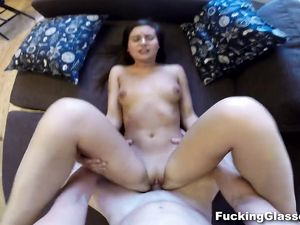 Euro Teen Joins Him For POV Sex In His Flat