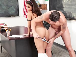Horny teacher Fucks The Prettiest Schoolgirl