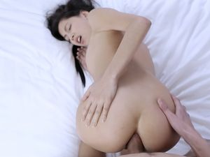 Beautiful Bent Over Girl Fucked Erotically From Behind