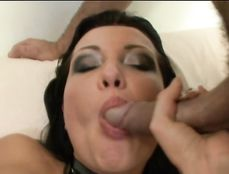 Double Anal Stuffing Of A Hot Girl In Sexy Leather