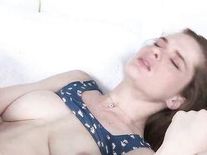 Teen Boobs Bounce As The Girl Rides His Long Dick