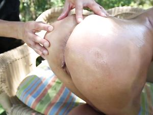 Big Naturals On His Hardcore Girl Fucking Outdoors