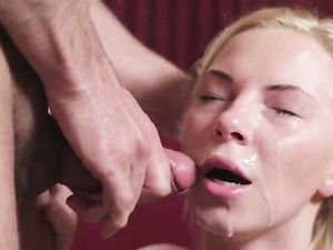 Ass Fuck And A Hot Facial For His Slutty Teen Lover