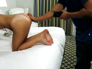 Fucking A Pretty Latina And Cumming On Her Teen Ass