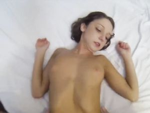 Cute 18 Year Old And Her Perfect Body Riding Hard Cock