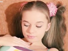 Impossibly Cute Teenager Has A Perfect Smooth Pussy