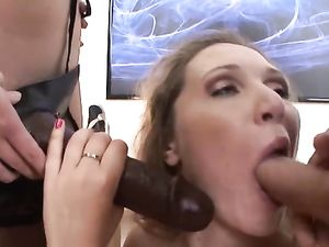 Flawless Lingerie Babes Are Into Hard Ass Fucking