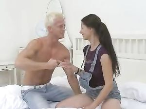Leggy Brunette Girl Next Door Fucked With Passion