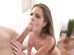 18 Year Old Cock Whore Gets The Big One She Loves