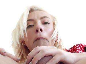 Maddy Rose Sucks Cock In A Super Cute Costume