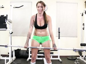 Tattooed Fitness Babe Is The Fuck Slut Of His Dreams