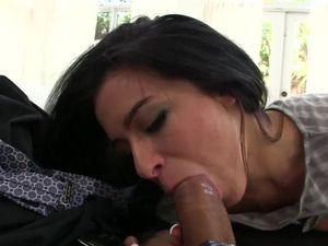 Petite Piece Of Ass Adriana Lynn Takes His Dick