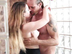 Young Cum Filled Cunt Drips Jizz After Hot Sex