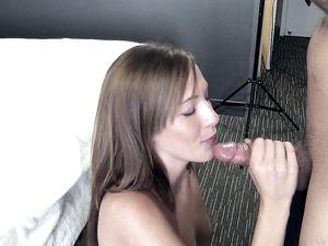 Perky Tits Of Molly Manson In A Hot POV Scene