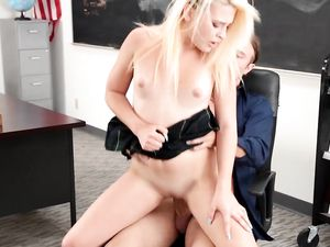 After School Tutoring And Fucking a Kinky Blonde